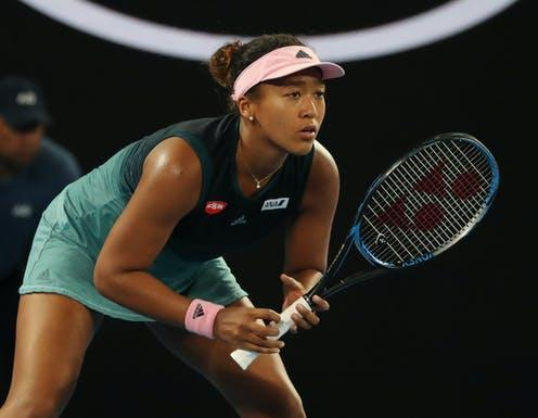 """<span class=""""caption"""">After dropping out of the French Open, Osaka opened up about her mental health struggles.</span> <span class=""""attribution""""><a class=""""link rapid-noclick-resp"""" href=""""https://www.shutterstock.com/image-photo/melbourne-australia-january-24-2019-grand-1293774430"""" rel=""""nofollow noopener"""" target=""""_blank"""" data-ylk=""""slk:Leonard Zhukovsky/ Shutterstock"""">Leonard Zhukovsky/ Shutterstock</a></span>"""