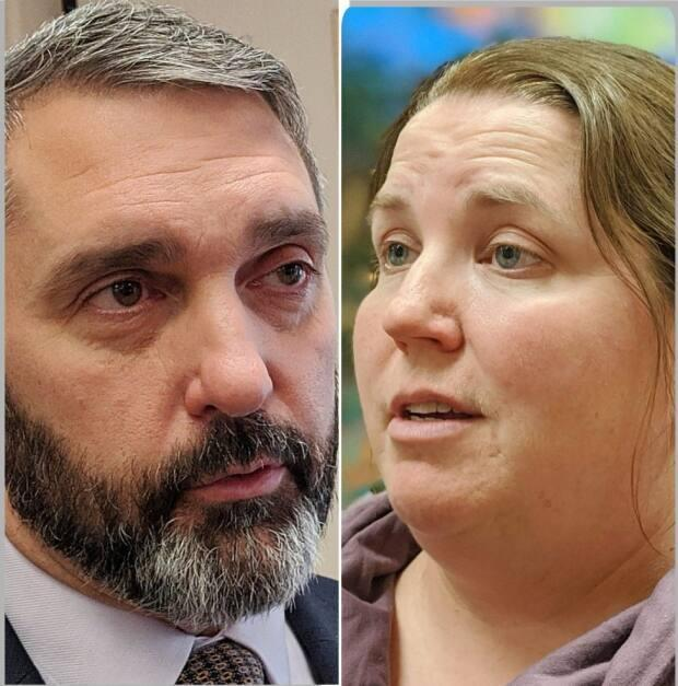 Yukon Liberal Leader Sandy Silver and NDP Leader Kate White said Wednesday their parties will work together, holding 11 of the territory's 19 seats. (CBC - image credit)