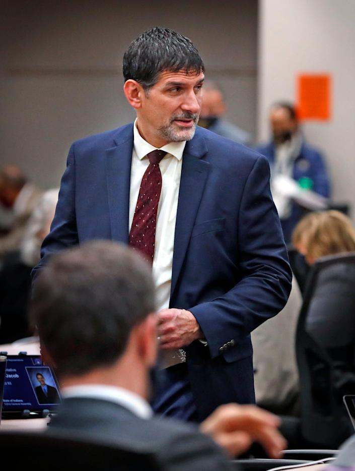 """Indiana Rep. John Jacob, R-Indianapolis, said a state mandate that people take the COVID-19 vaccine would be a """"gross violation of the individual freedom of Hoosiers."""""""