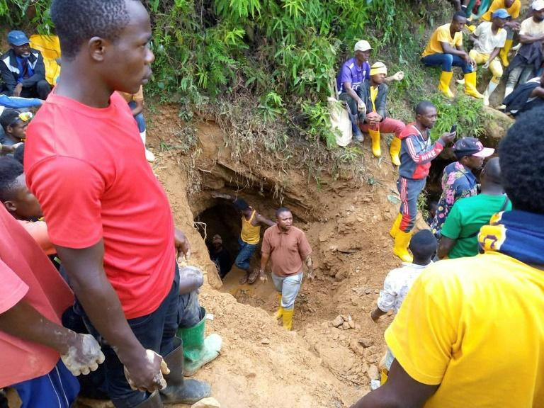 The bodies of 22 artisanal miners have been recovered after torrential rain flooded their mine in the east DRC town of Kamituga