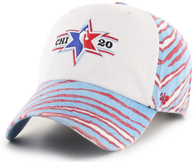 NBA All-Star Game Zubaz Freshman '47 Clean Up Hat