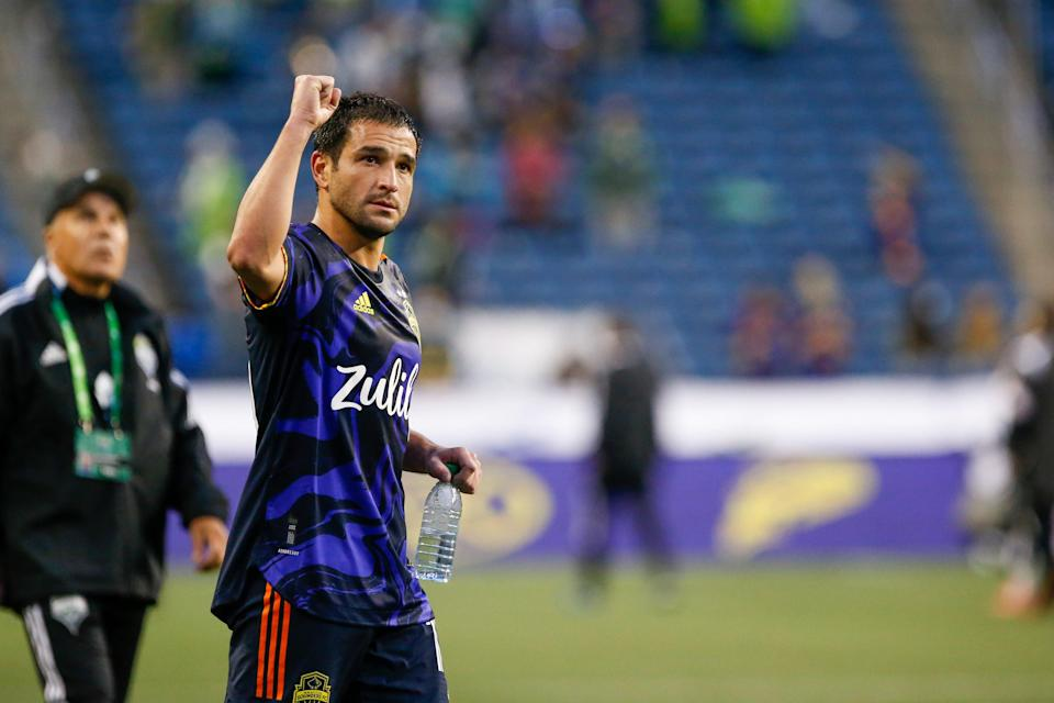 After missing the first half of the season, Nicolas Lodeiro is back for the Seattle Sounders, including scoring a goal in his team's Leagues Cup win over Tigres.