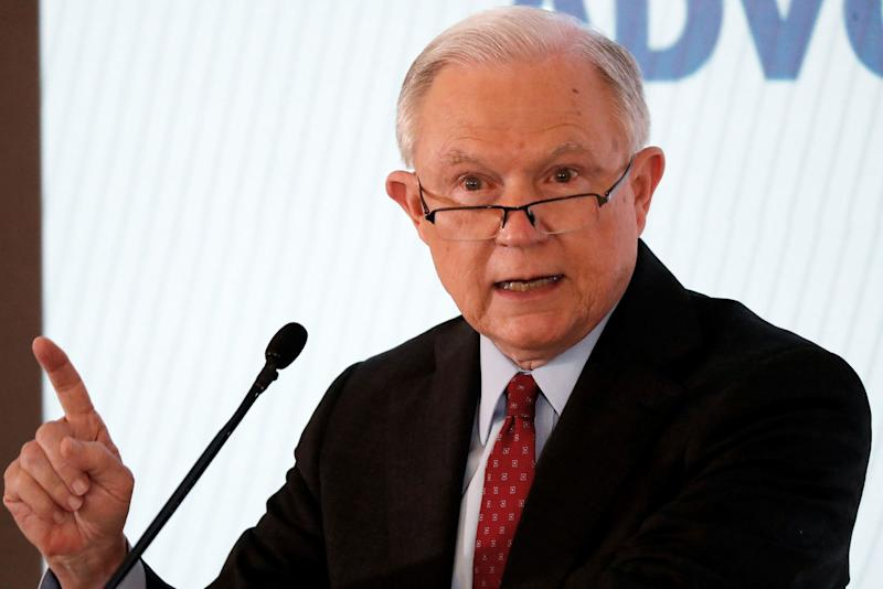 Jeff Sessions fires back at Trump after president insults him