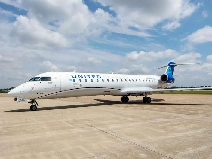 United Airlines Express CRJ-550