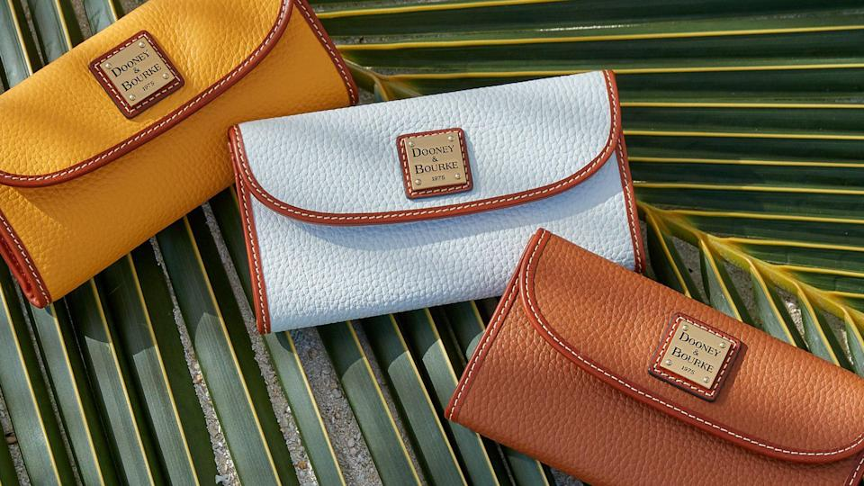 Get the Dooney & Bourke Pebble Grain Continental Clutch this Cyber Monday.