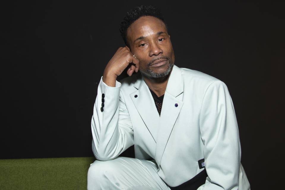 Billy Porter shares that he is HIV-positive, 14 years after diagnosis. (Photo: Getty Images)