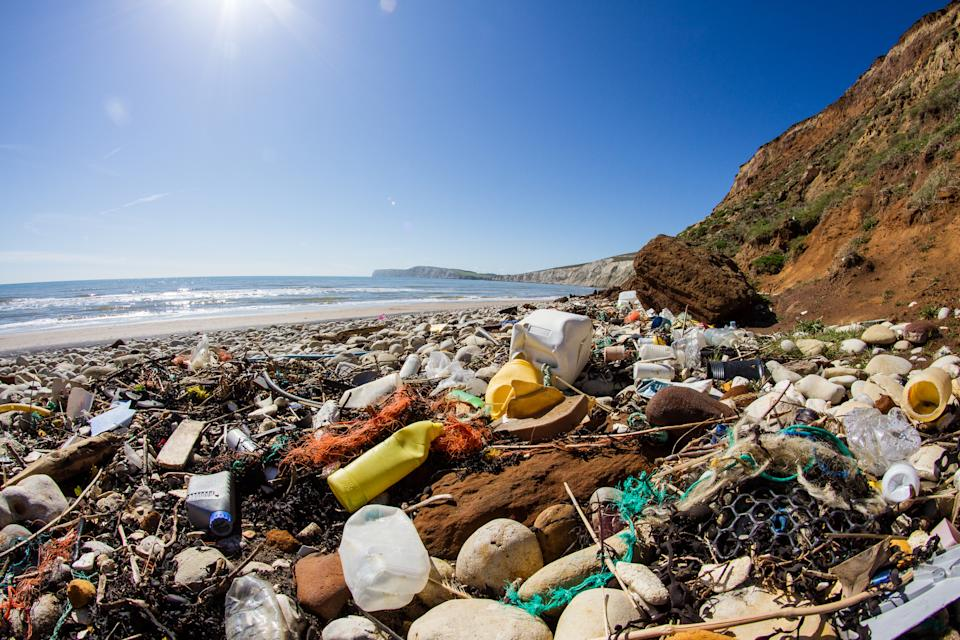 New research has revealed the plastic in our oceans may have changed the planet forever. (Getty Images)