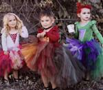 """<p><a class=""""link rapid-noclick-resp"""" href=""""https://www.popsugar.com/Halloween"""" rel=""""nofollow noopener"""" target=""""_blank"""" data-ylk=""""slk:Halloween"""">Halloween</a> costumes don't come any cuter than this <span>Hocus Pocus Set</span> ($36) for triplets.</p>"""