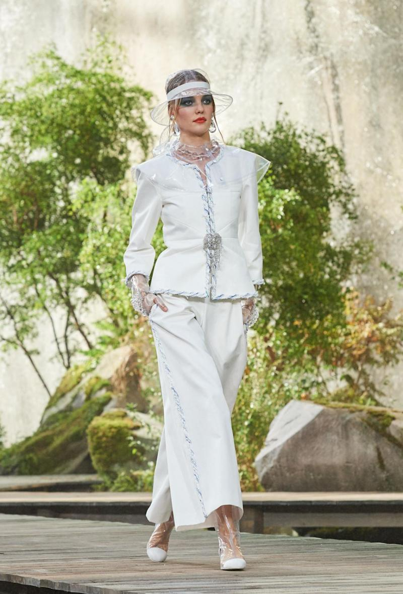 The classic Chanel cream suits were also on display. Photo: Chanel