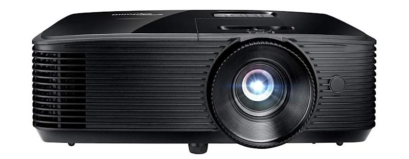 This HD projector has a 4.2 out of five-star review rating. (Photo: Amazon)