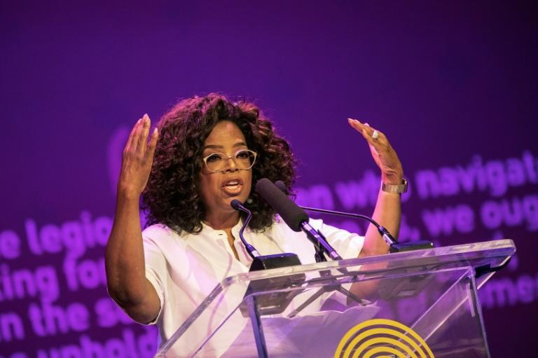 US TV personality Oprah Winfrey, pictured in November 2018, did a show with Faria in 2013 after visiting him the previous year