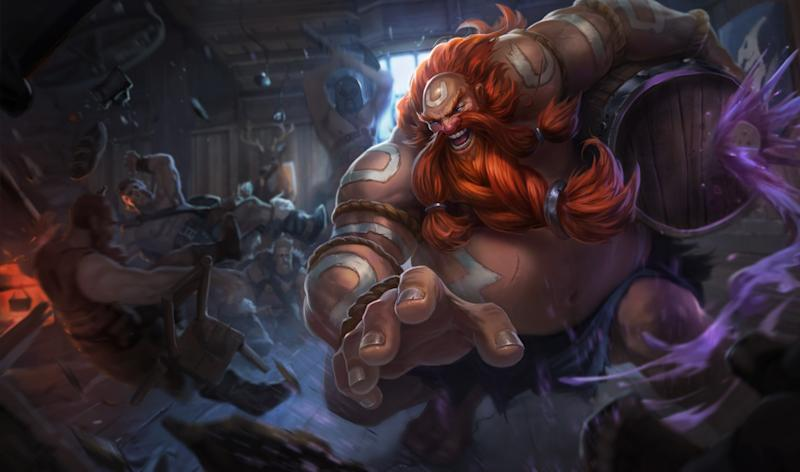 Gragas will finally be seeing nerfs in Patch 6.17 (Riot Games)
