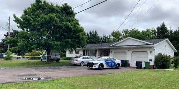 The bodies of Danielle White and her daughter Olivia Rodd were found in July 2020 in their home on Lilac Avenue in Charlottetown. (Tony Davis/CBC - image credit)