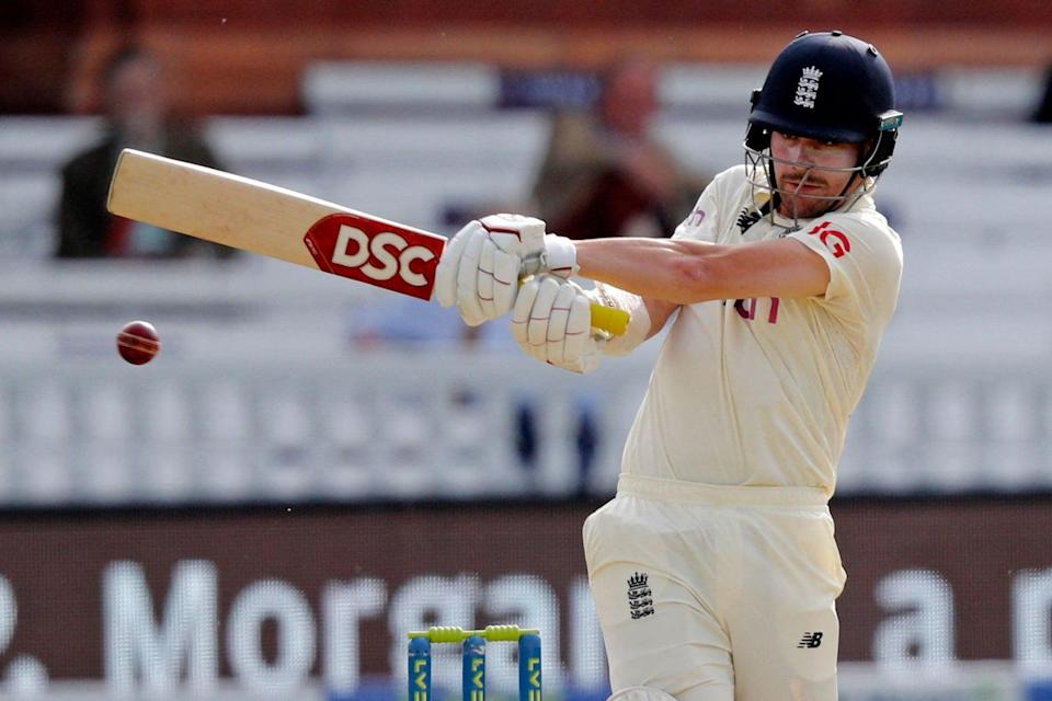 <p>Rory Burns led the England fightback against New Zealand after Devon Conway's double ton</p> (AFP via Getty Images)