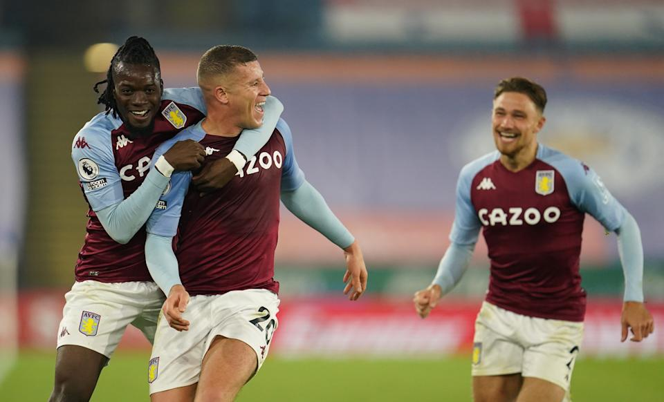Aston Villa have capitalised on the inconsistency of othersGetty