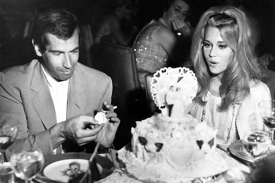 <p>During her early success, Fonda married French movie producer and director Roger Vadim on Aug. 14, 1965, in Las Vegas. They were together until 1973 and in that time, welcomed a daughter named Vanessa.</p>