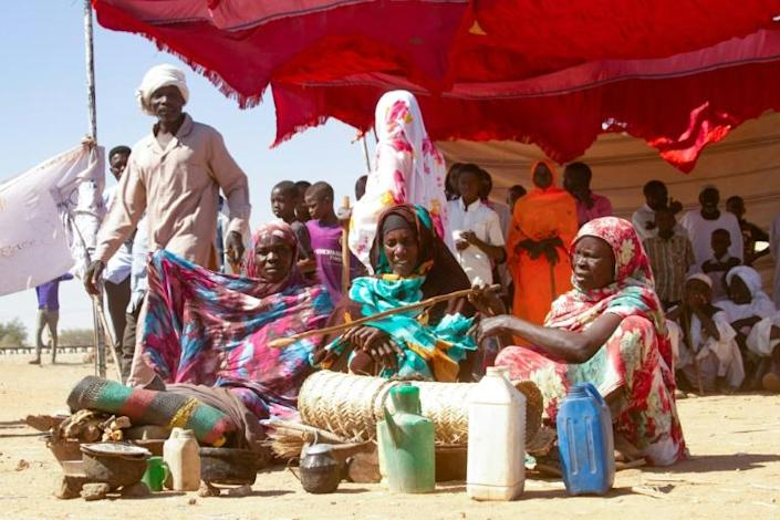 Sudanese women in December protested the end of the mandate of the UN peacekeeping mission in Darfur, where violence has erupted again claiming more than 130 lives