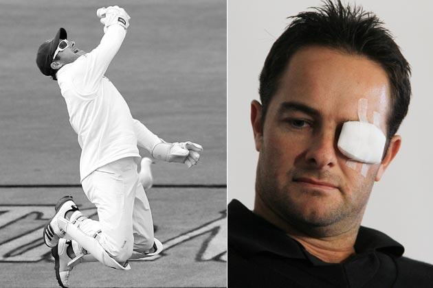 Mark Boucher The most prolific wicketkeeper in international cricket, South Africa's Mark Boucher announced his retirement on July 10 following a painful injury to his left eye. Boucher, 35, was struck in the eye by a bail in Taunton during South Africa's practice game against Somerset ahead of their Test series with England.  Boucher retired with 999 dismissals in all forms of international cricket. Ironically, Boucher had indicated the England tour would be his last assignment for the Proteas before leaving South African shores.  Fortunately for Boucher, the important parts of the retina of his left eye were found to be intact after he underwent a second surgery in Cape Town. Doctors had feared he would be left totally blind in the damaged eye, but the prognosis improved over time.   As tribute to his best mate, Jacques Kallis pointed to his eye after scoring his 43rd Test century in the first Test match against England. The Graeme Smith-led team also paid tributes to Boucher after winning the series. South Africa's skipper wrote 'We miss you Bouch' on his shirt after they became the No. 1 Test team.