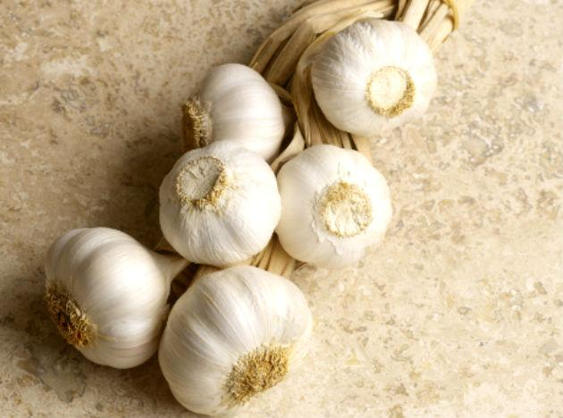 "<b>Garlic: </b> Garlic's heart health boosting properties are well known, it helps lower cholesterol, reducing chances of blockage. Further, research findings published in the Journal of National Cancer Institute suggests that regularly eating garlic and onions cuts risk of <a href=""http://www.mdhil.com/prostate-cancer/"">prostate cancer</a>. So include them in your diet today."