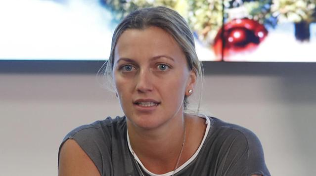 Two-time Wimbledon champion Petra Kvitova says she has been making ''good progress'' in her recovery after being attacked by a knife-wielding intruder last year and hopes to be able to compete at the French Open next month.