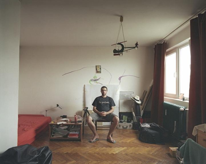 """<p>Romanian photographer <a href=""""http://girbovan.ro/"""">Bogdan Gîrbovan</a> (pictured) decided to find out how residents below his 10th-story Bucharest apartment inhabited their space. The spare setups may not win any cutting-edge design awards, but they offer a window into how real people use the space they call home. (Photo: <a href=""""http://girbovan.ro/"""">Bogdan Gîrbovan</a>)</p>"""