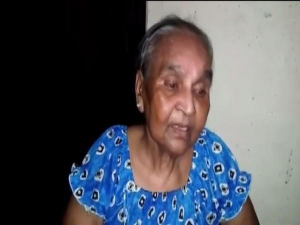 Shakuntala, the mother of the deceased man (Photo/ANI)
