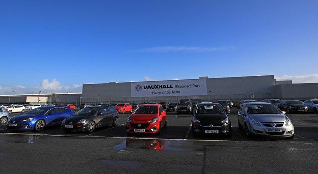 The Vauxhall plant in Ellesmere Port