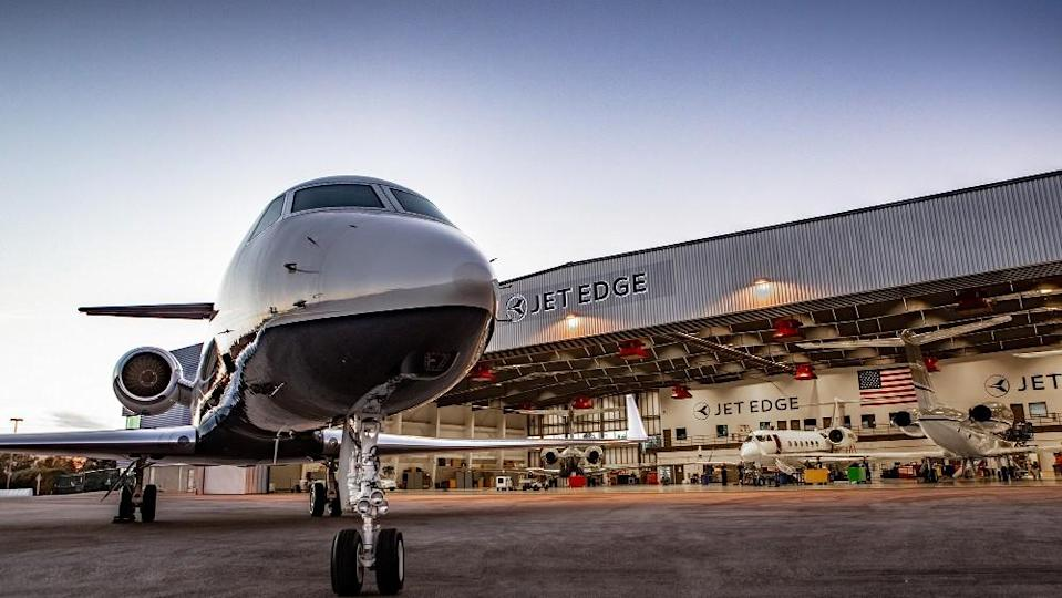 Full hangars are now a rarity as both charter and fractional programs have increased beside jet ownership. - Credit: Courtesy Jet Edge