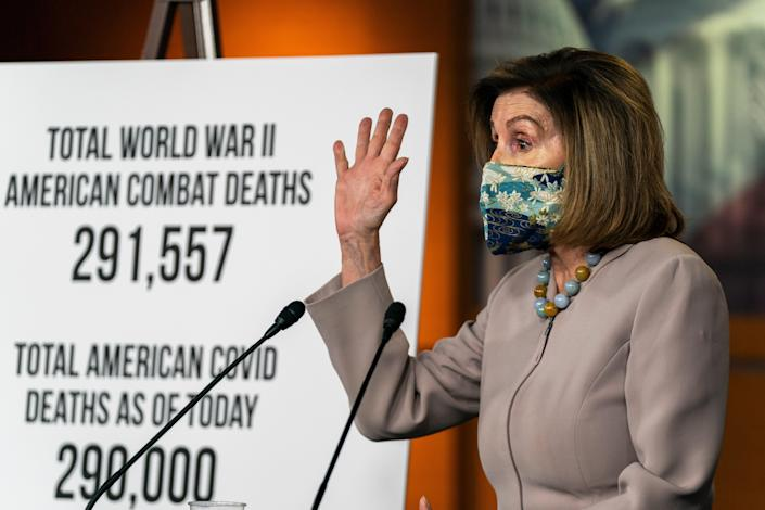 Virus Outbreak Pelosi (Copyright 2020 The Associated Press. All rights reserved.)