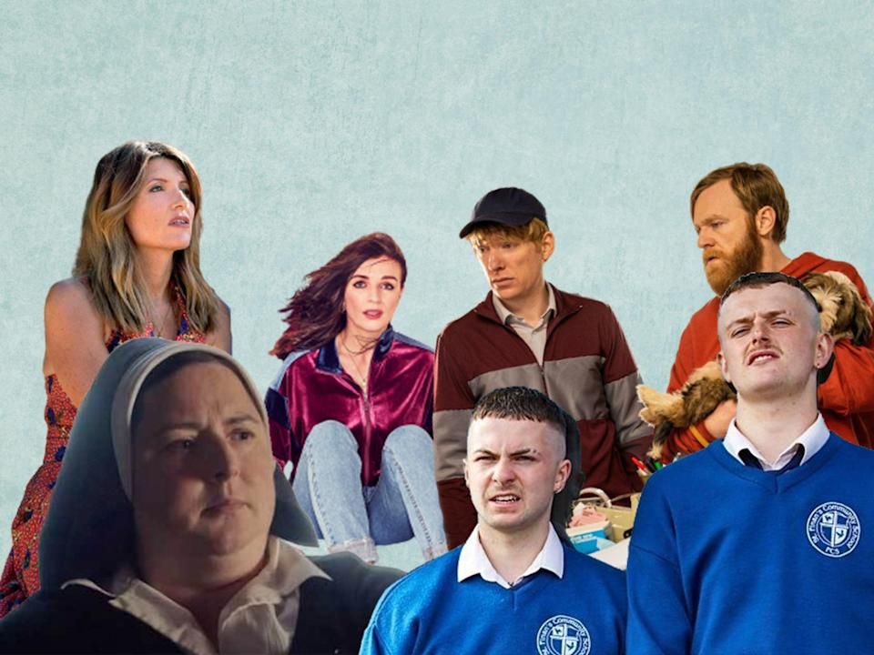 <p>In the past five years, there has been an explosion of comedy shows from Ireland, drawing in fans from around the world</p> (Avalon, Merman, Channel 4, BBC)