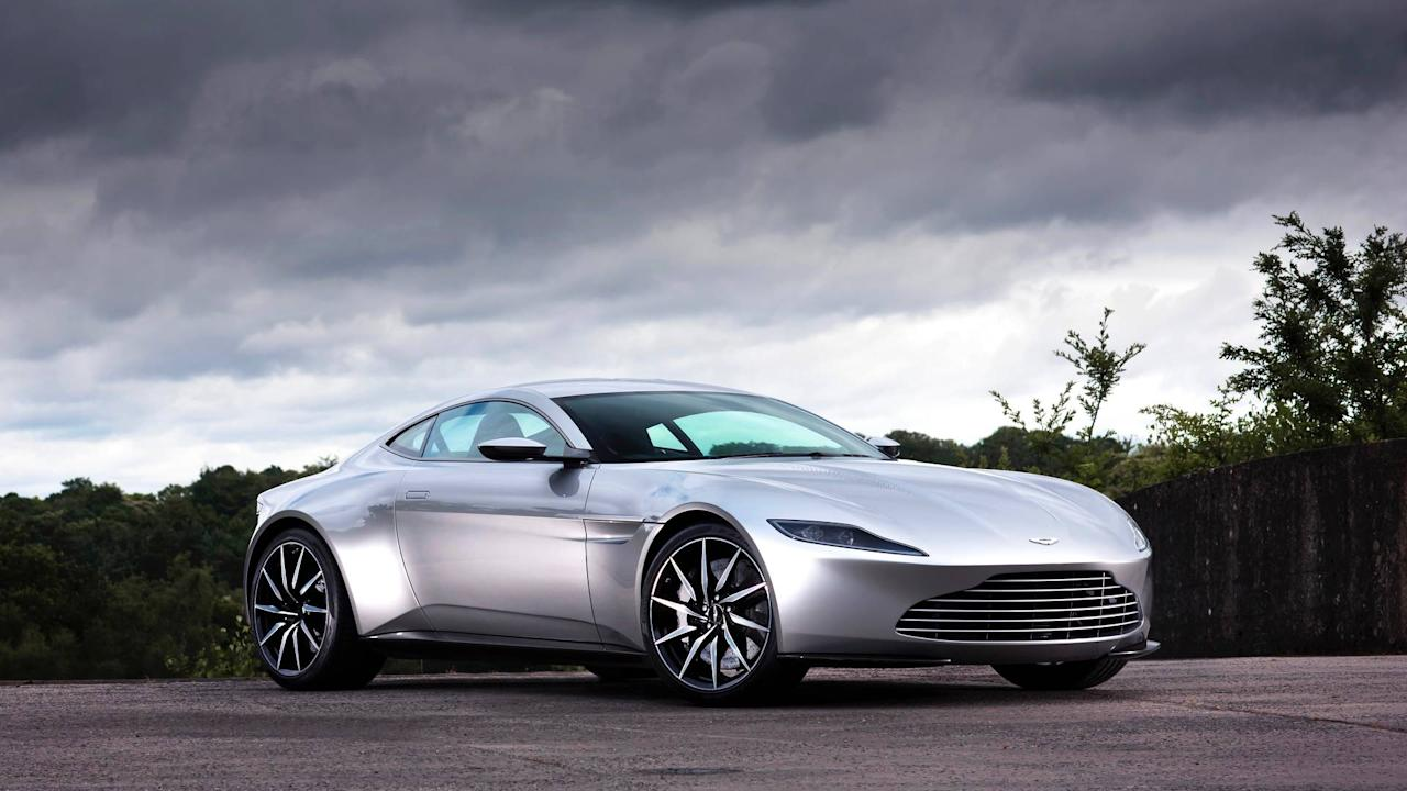 <p>The DB10 was built specifically for James Bond in his pursuit to find out who was behind the villainous organisation Spectre in the 2015 film of the same name. Effectively a concept car, the V8 powered sports car ended up in a river by the end of its chase sequence through the streets of Rome.</p>