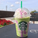 <p>To cheer up all those who missed out on the Unicorn version or were left heartbroken by its departure, some baristas came up with the Dragon Frappuccino. Nobody quite seems to know what's in it, though green tea has been mooted as the magical ingredient. [Photo: Instagram/crowgarrett] </p>