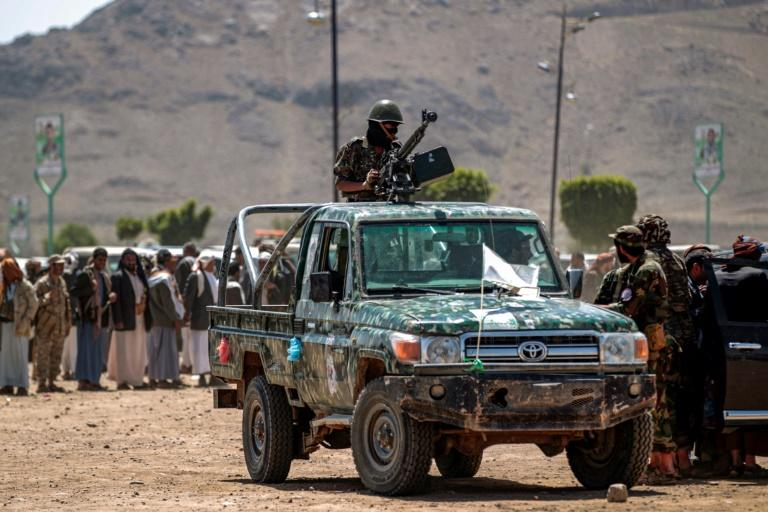 The Iran-backed Huthi rebels control swathes of Yemen including the capital Sanaa