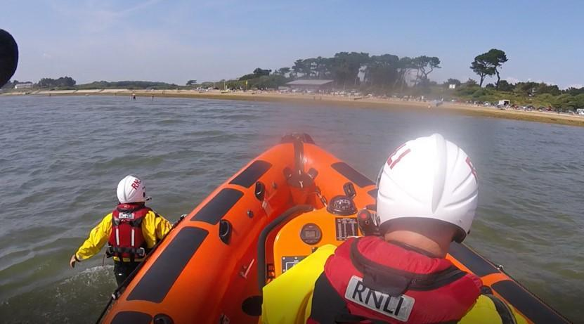 Cowes RNLI were called to the group of paddleboarders who had got into difficulty. (Stock image: Cowes RNLI)
