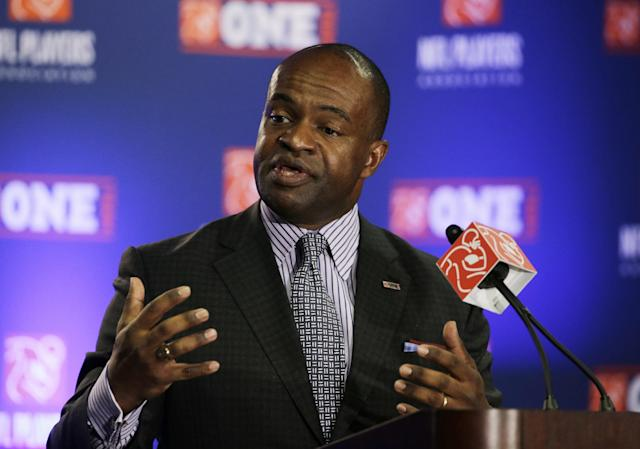 NFL Players Association Executive Director DeMaurice Smith (AP)