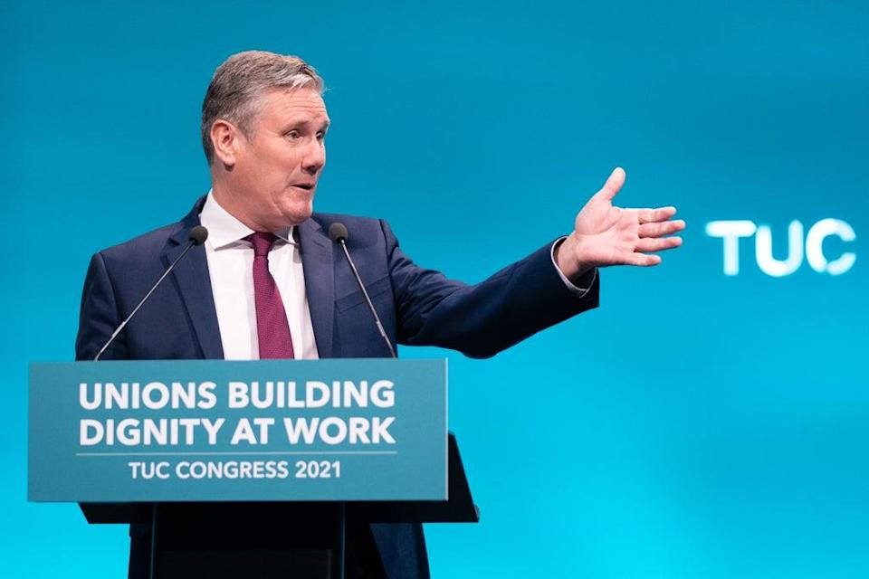 Sir Keir Starmer wants to change the way Labour's leaders are selected (Stefan Rousseau/PA) (PA Wire)