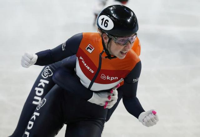 FILE PHOTO: ISU World Short Track Speed Skating Championships