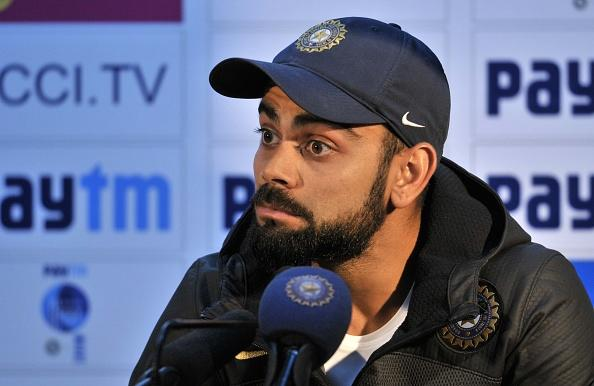 """The Indian skipper is quite active on Twitter. The world of social media carries a storyline of its ownpertaining to the action that transpires on and off the cricket field. With most cricketers being active members of several social media platforms, discussions, banter, and arguments happen to be a daily dose for a social butterfly.There has been a gradual increase inweb audience in the past few years, and people now find it convenient to follow their cricketing heroes on the web rather than on printor the television.Tapping into the vast parallel world that runs in front of us, onmobiles and laptops, we bring you the weekly doseof cricket that took place onsocial media.    Happy women's day to every woman out there, but specially to the two strongest women in my life. My mom for looking after the family in toughest times in life and @anushkasharma for fighting against  the odds regularly and standing up for righteousness and changing the norms #happywomenday A post shared by Virat Kohli (@virat.kohli) on Mar 7, 2017 at 8:28pm PSTOn Valentine's Day, the Indian cricket team's skipperfinally let the cat out of the bag when he confirmed his relationship with Anushka Sharma on Instagram. On the occasion of International Women's Day, the 28-year-old again posted a special message for the two strongest women in his life, one, of course, was his mother and the other, none other than long-time girlfriend Anushka Sharma.Virat posted an adorable picture with his mother and the Bollywood star, along with which he wrote, """"Happy women's day to every woman out there, especially to the two strongest women in my life. My mom for looking after the family in toughest times in life and @anushkasharma for fighting against the odds regularly and standing up for righteousness and changing the norms #happywomenday.""""The message came a day after Kohli pulled off a dramatic win against Australia."""