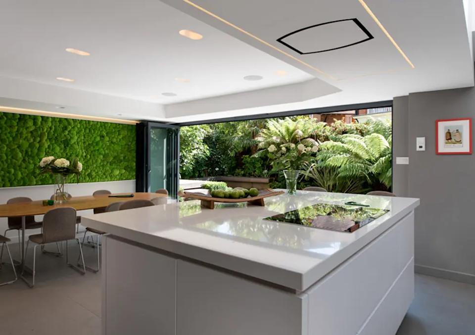 Wide bifold doors are just one way to bring the outside in (Image: IDSystems)