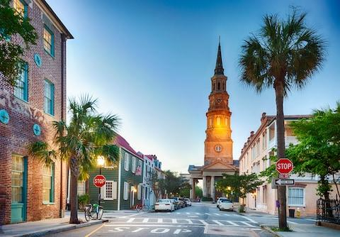 """""""You can't help but get sucked in to the old-world charm of Charleston"""" - Credit: getty"""