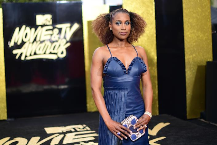 Actor Issa Rae attends the 2017 MTV Movie And TV Awards at The Shrine Auditorium on May 7, 2017 in Los Angeles, California.
