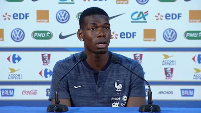 Two years after their defeat against Portugal in the final of the Euros, France are vying for the World Cup, but midfielder Paul Pogba says the preparation and the mindstate of this year's team is completely different to that of two years ago.