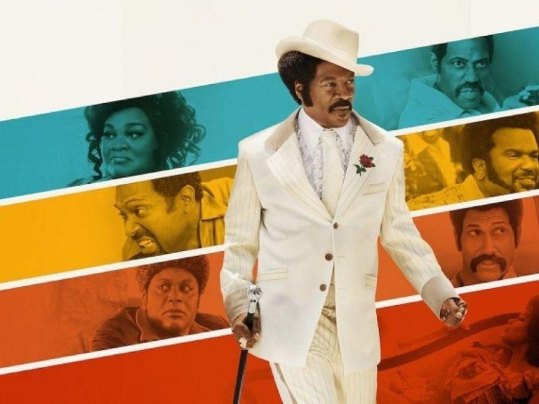 "<p>Funnyman Eddie Murphy takes it back to the 1970s in his portrayal of comedy and rap legend, Rudy Ray Moore. While actors Keegan- Michael Key and Craig Robinson bring the laughs, Rotten Tomatoes confirms what many of us know to be true: Murphy is the real star, and is ""just as bold, brash, and ultimately hard to resist as its subject.""</p><p><a class=""link rapid-noclick-resp"" href=""https://www.netflix.com/title/80182014?source=35"" rel=""nofollow noopener"" target=""_blank"" data-ylk=""slk:STREAM NOW"">STREAM NOW</a></p>"