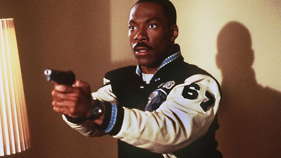 Eddie Murphy played detective Axel Foley in the 'Beverly Hills Cop' trilogy. (Credit: Paramount)