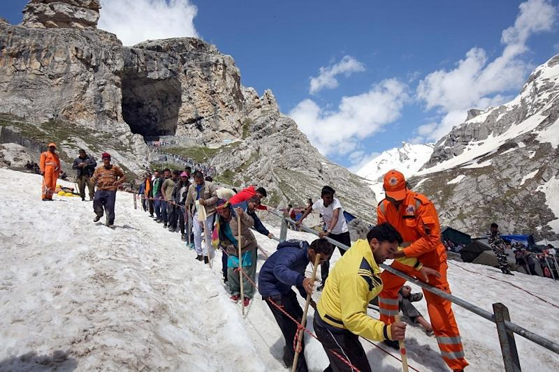 Amarnath Yatra Called Off Amid Coronavirus Crisis, 'Aarti' to Be Broadcast Live