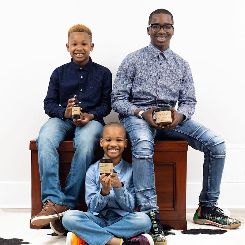 Young Brothers Launch Handcrafted Candle Company to Help the Homeless: 'It Makes Me Feel Good!'
