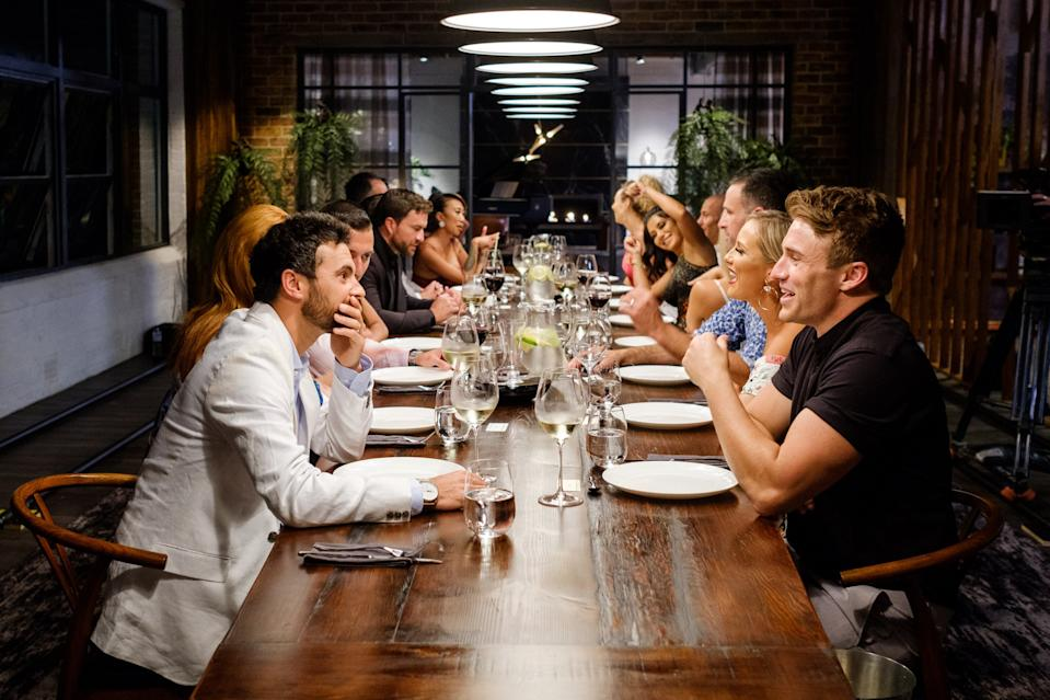 Image of MAFS dinner party