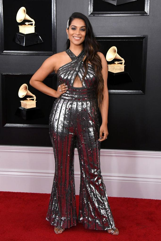 <p>Lilly Singh attends the 61st annual Grammy Awards at Staples Center on Feb. 10, 2019, in Los Angeles. </p>
