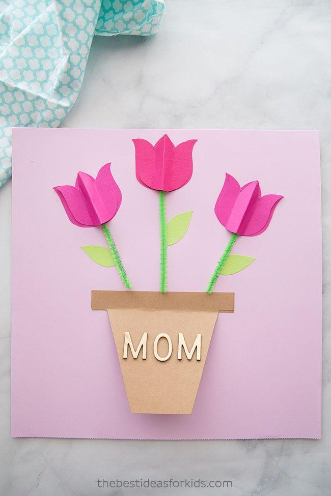 """<p>Just about any kid will tell you that pipe cleaners are the absolute best. In other words, here's one DIY Mother's Day card your little one will have loads of fun creating. </p><p><strong>Get the tutorial at <a href=""""https://www.thebestideasforkids.com/mothers-day-card-craft/"""" rel=""""nofollow noopener"""" target=""""_blank"""" data-ylk=""""slk:The Best Ideas for Kids"""" class=""""link rapid-noclick-resp"""">The Best Ideas for Kids</a>. </strong></p><p><a class=""""link rapid-noclick-resp"""" href=""""https://www.amazon.com/KASEMI-Cleaners-Assorted-Chenille-Decorations/dp/B07XG8HV7B?tag=syn-yahoo-20&ascsubtag=%5Bartid%7C2164.g.35668391%5Bsrc%7Cyahoo-us"""" rel=""""nofollow noopener"""" target=""""_blank"""" data-ylk=""""slk:SHOP PIPE CLEANERS"""">SHOP PIPE CLEANERS </a></p>"""