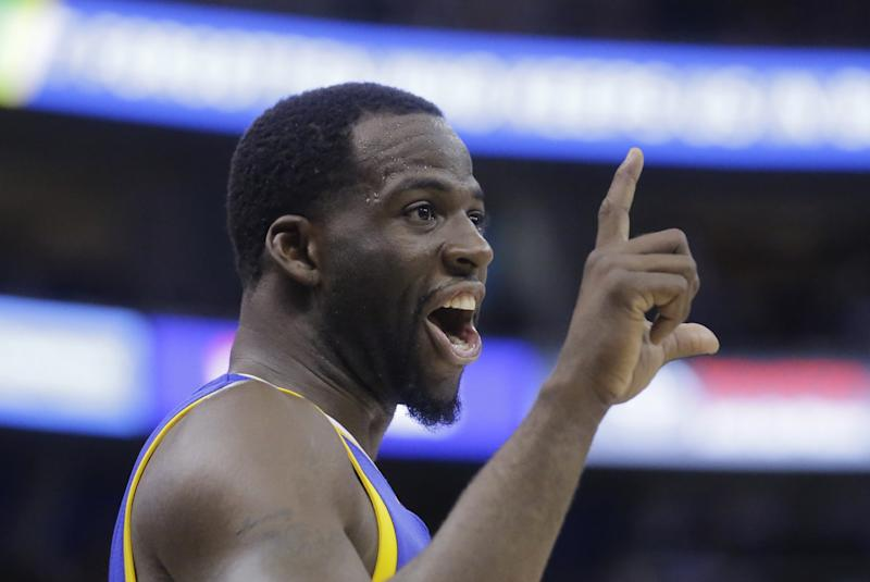 Draymond Green has something to add. (AP)